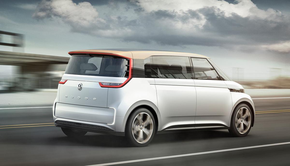 volkswagen stellt elektroauto budd e vor bilder video. Black Bedroom Furniture Sets. Home Design Ideas