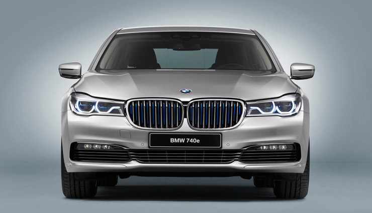 BMW iPerformance 740e Plug-in-Hybrid – 8