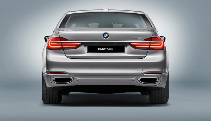 BMW iPerformance 740e Plug-in-Hybrid – 9