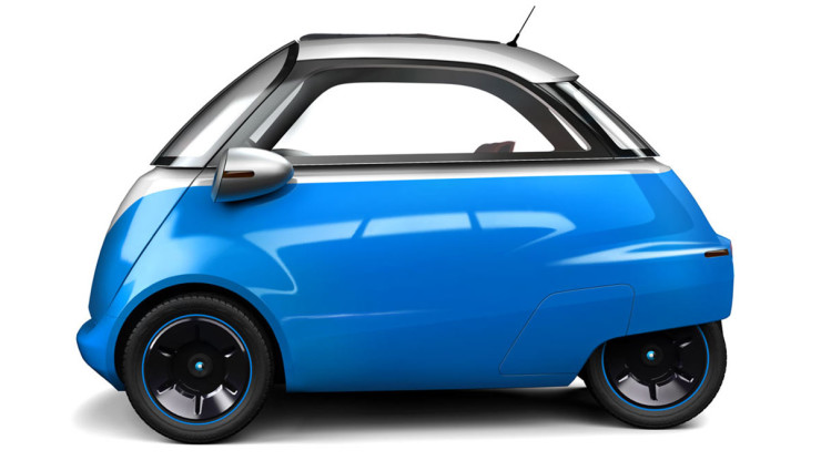 Retro-Isetta und City-Stromer Microlino debütiert in Genf (Videos)