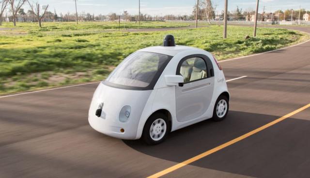 Google Elektroauto Induktion kabelloses Aufladen