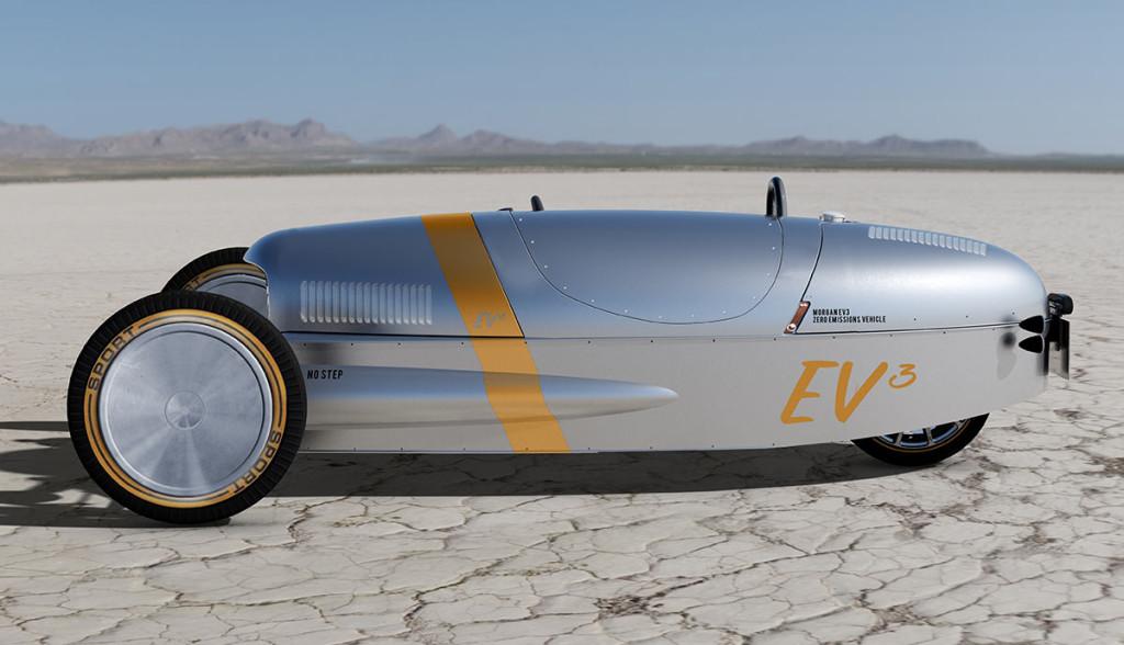 Morgan- Elektroauto EV3