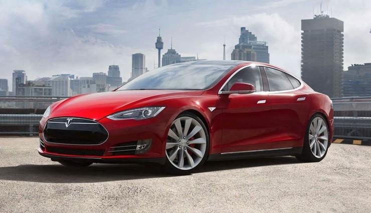 Tesla-Elektroauto-Model-S