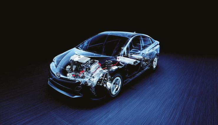 Toyota Prius Hybrid 2016 – 1