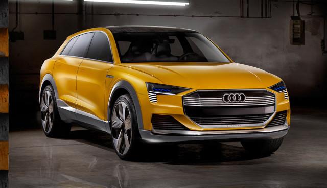 Audi Q6 e-tron h-tron Elektroauto