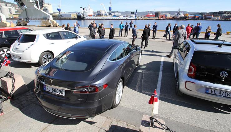 Ehrgeiziger Plan: 100 Prozent Elektroautos in Norwegen