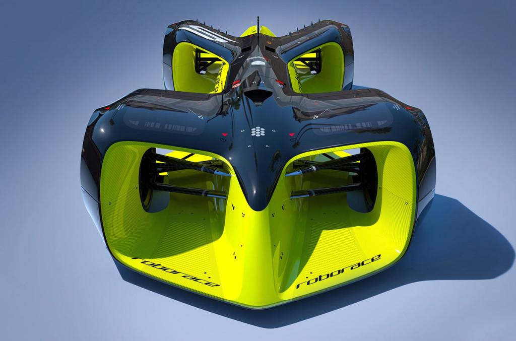Formel-E-Roborace-Elektroauto-Rennwagen