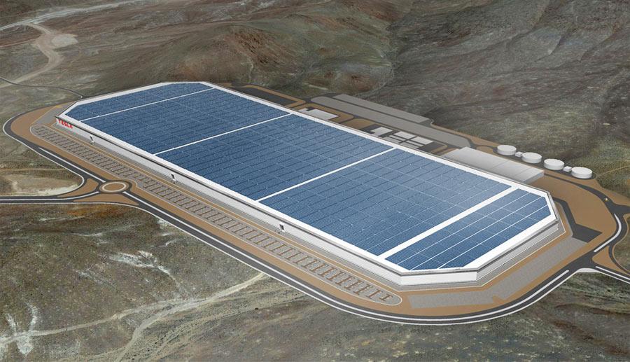 """Erste Bilder und neue Details aus dem Inneren der Tesla """"Gigafactory"""""""