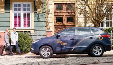 BeeZero-Wasserstoff-Carsharing