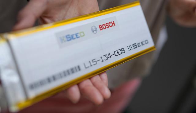Bosch-Elektroauto-Batterie