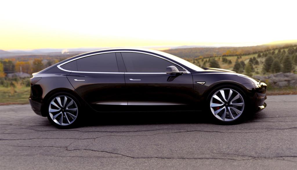 Tesla Model 3 Vorbestellungen