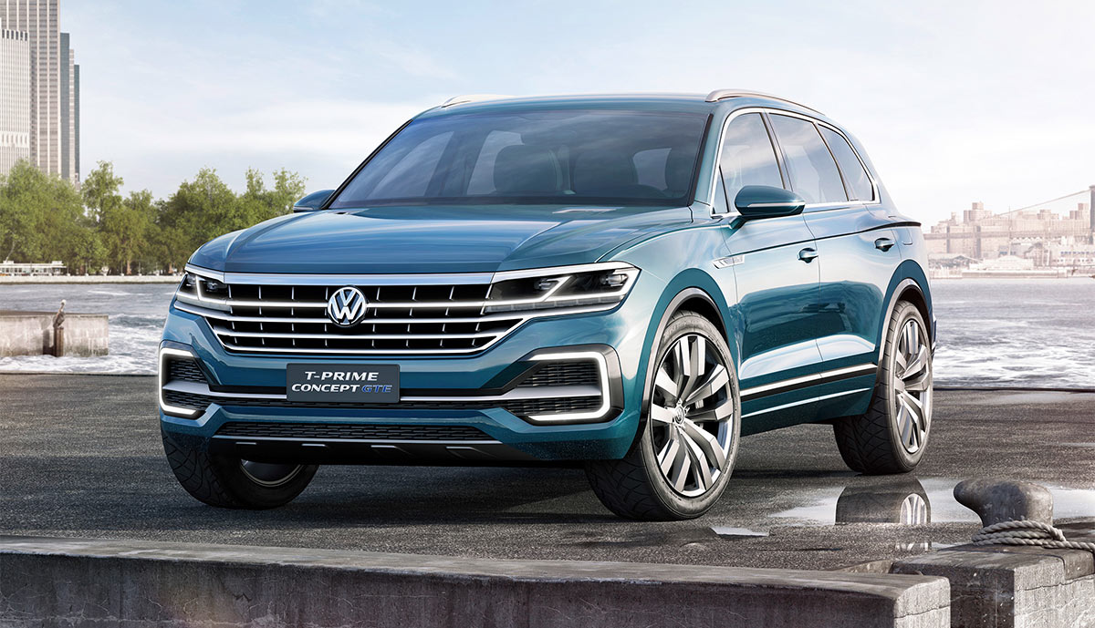 vw plug in hybrid t prime gte der neue touareg. Black Bedroom Furniture Sets. Home Design Ideas