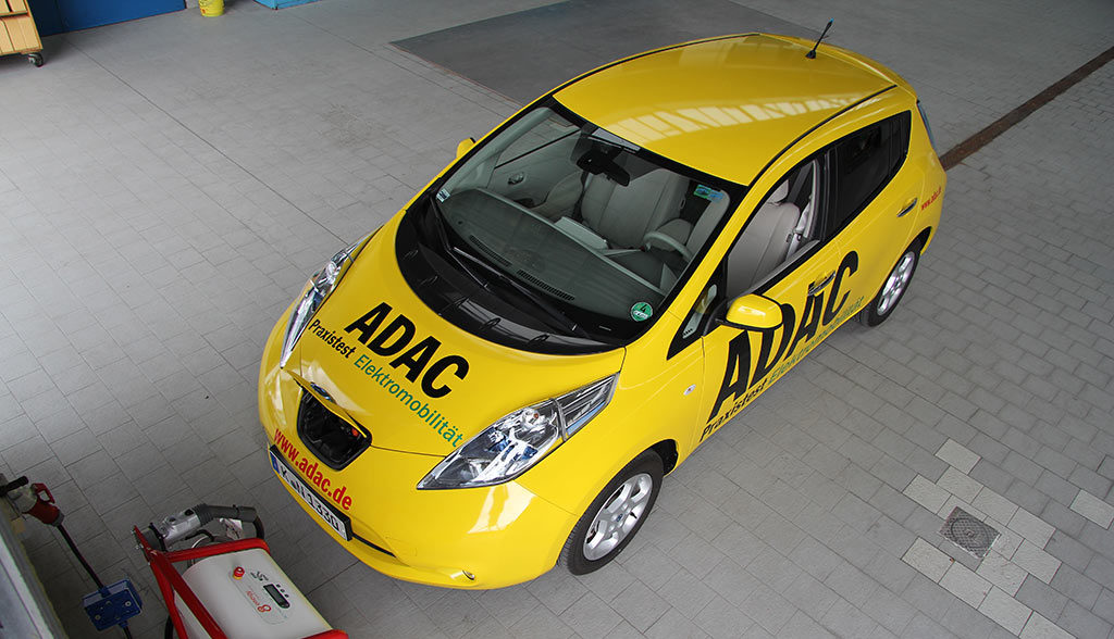 ADAC-Elektroauto