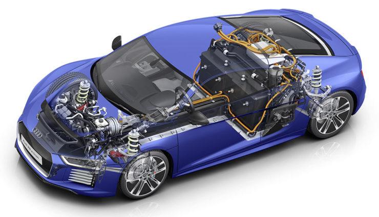 Audi: Elektroauto-Motoren noch lange nicht ausgereizt