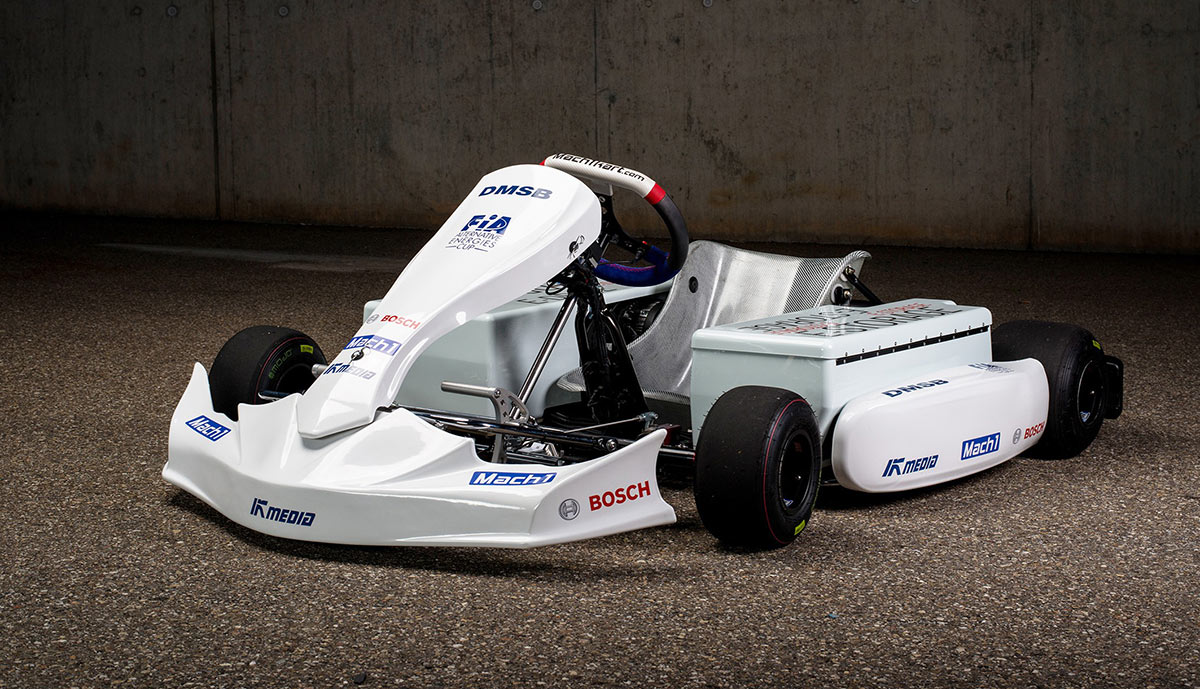 Elektro-Motorsport: Gokarts werden sauber & leise