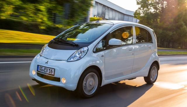 MItsubishi Nissan Elektroauto iMiEV