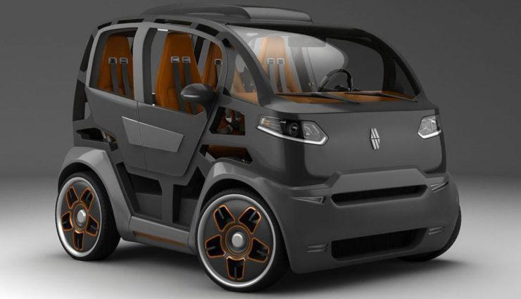 Elektroauto Mirrow Provocator: So klein wie ein smart fortwo, aber mit Platz für vier