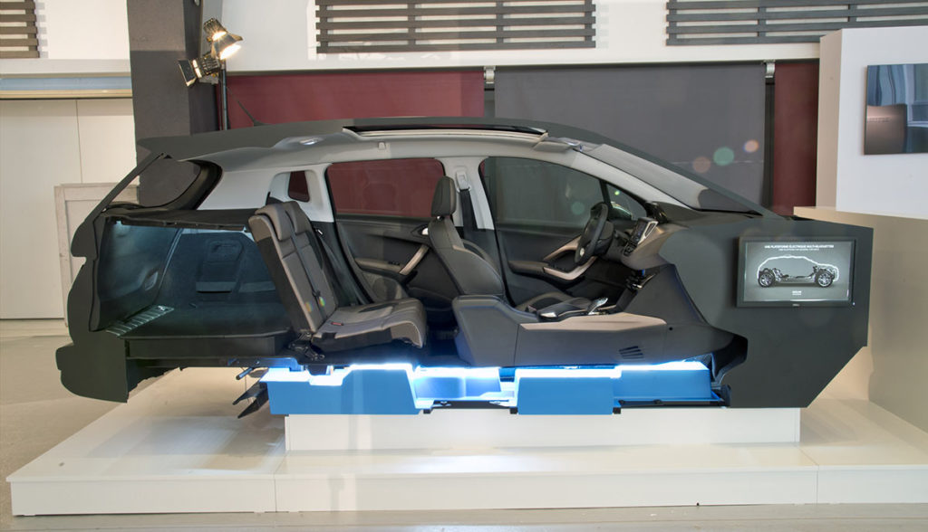 PSA-Elektroautos