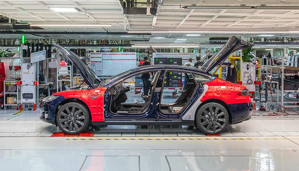 Tesla-Audi-Hochhodinger