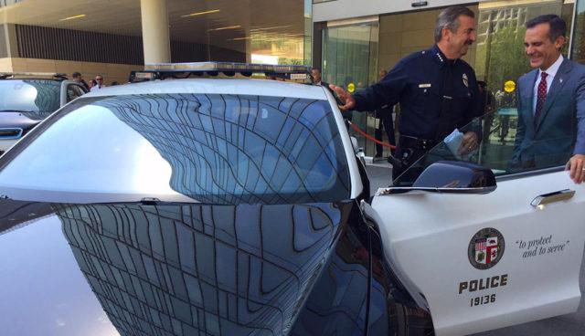Tesla-LAPD-Polizei