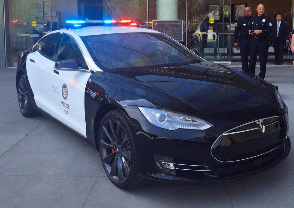 Tesla-LAPD-US-Polizei
