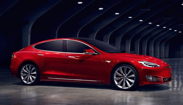 Tesla Model S 70 75 kWh Facelift Reichweite