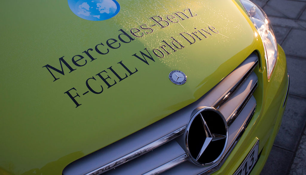 Daimler-Mercedes-Wasserstoff-Elektroauto