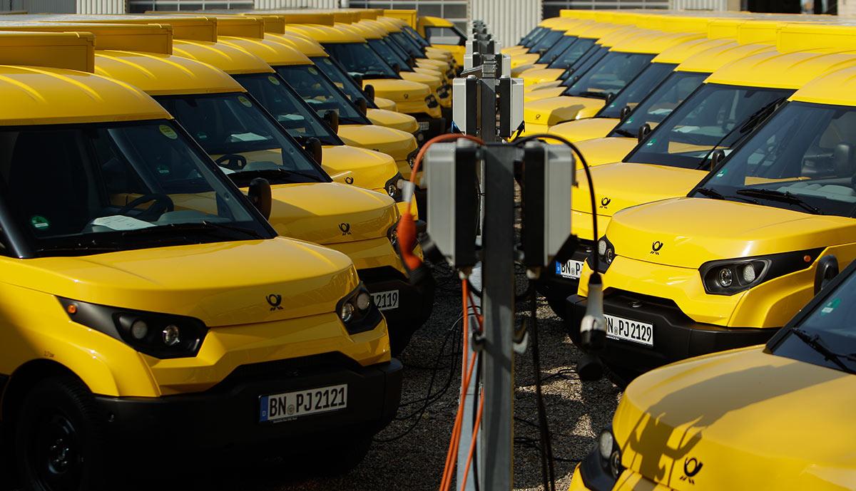 Musterbriefe Deutsche Post : Deutsche post will auf elektroautos umsteigen ecomento tv
