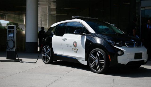 LAPD Elektroauto BMW i3