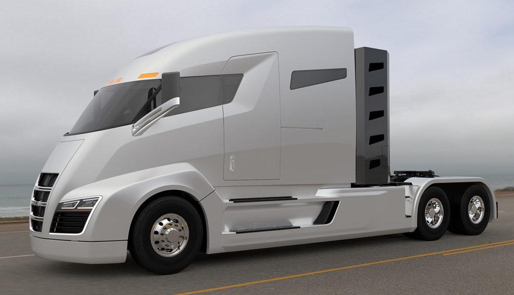 Nikola Motor One Elektro-Truck