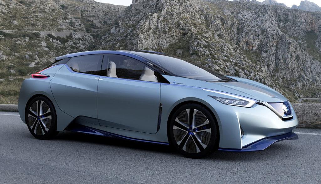 Nissan Reichweite LEAF IDS Concept