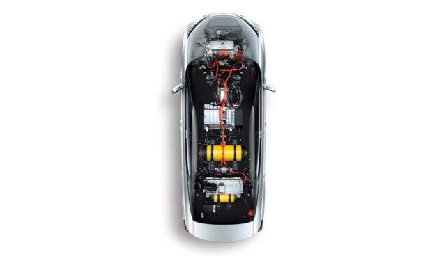 Tesla-Wasserstoffantrieb