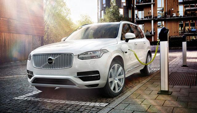 Volvo-Plug-in-Hybridauto-Elektroauto