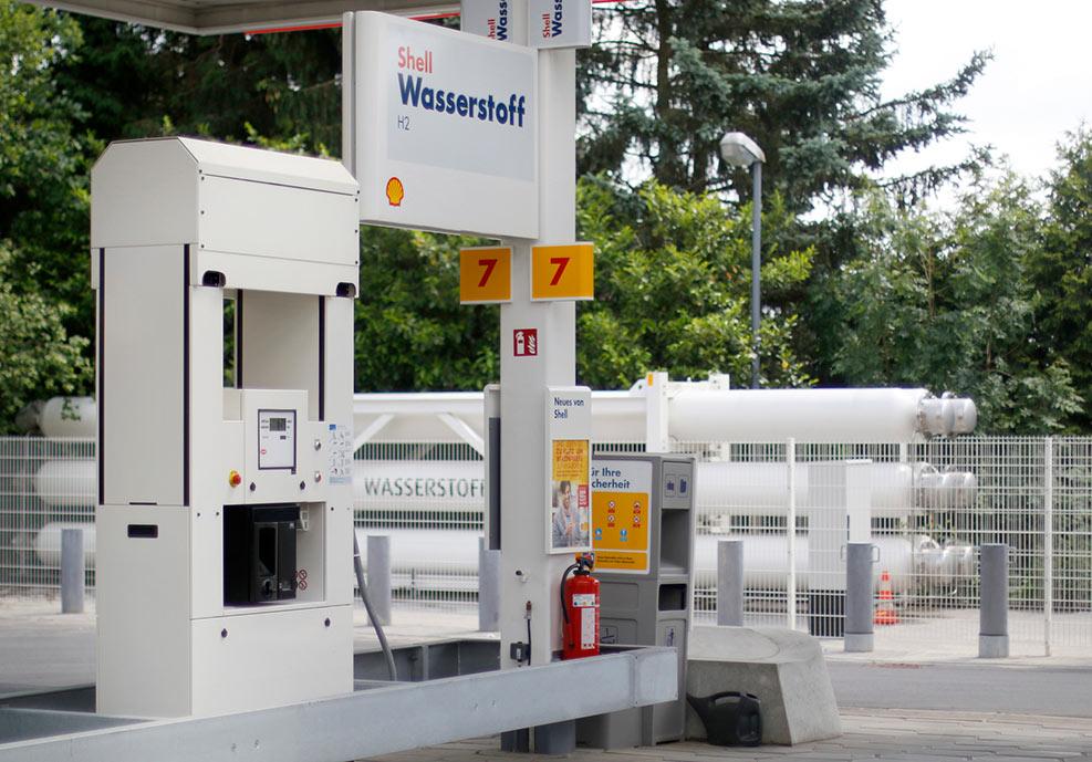 Wasserstoff Tankstellen Nrw