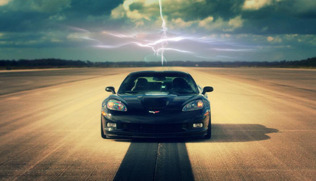 Elektroauto-Geschwindigkeits-Rekord-2016-GXE-Corvette