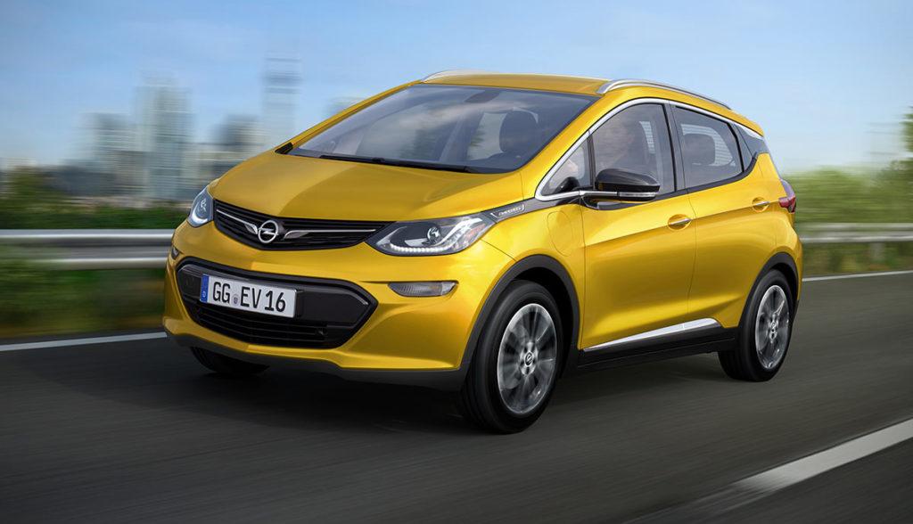 Opel Ampera-e Erlkoenig