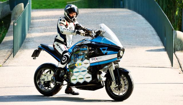 STORM Pulse: Universität Eindhoven baut Langstrecken-Elektromotorrad