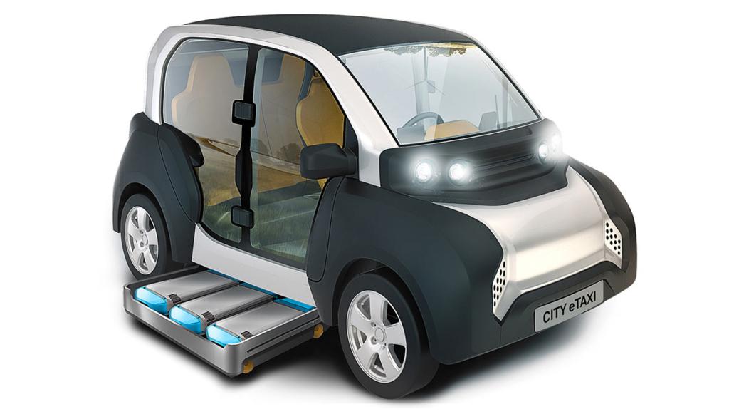ACM-Taxi-Elektroauto