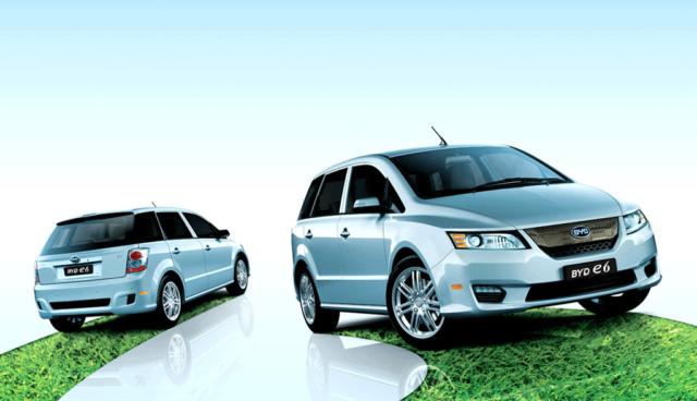BYD-Elektroauto-e6