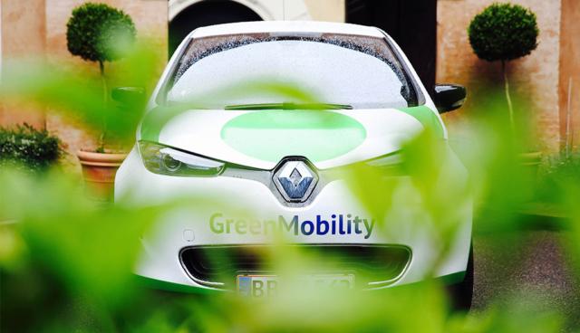 Elektroauto-Greenpeace