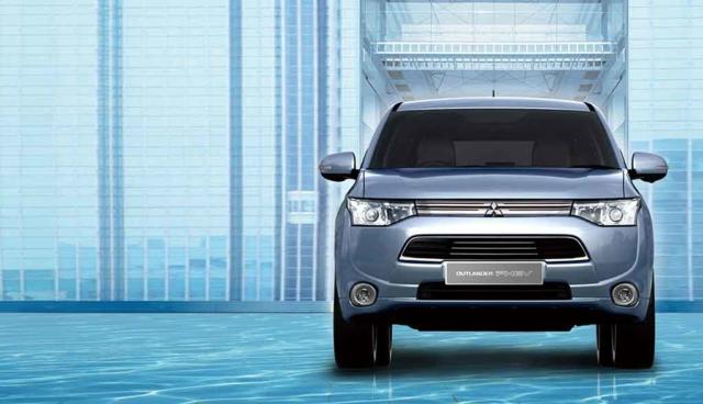 Mitsubishi-Elektroauto-Plug-in-Hybrid