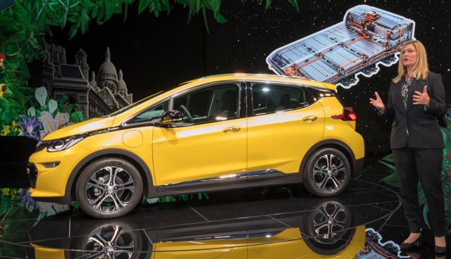 Ampera-e: Neue Bilder und Videos zu Opels 500-km-Elektroauto