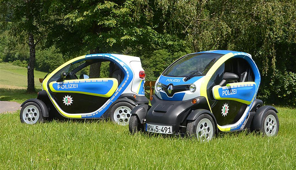 polizei bonn ab sofort auch mit elektroautos unterwegs. Black Bedroom Furniture Sets. Home Design Ideas
