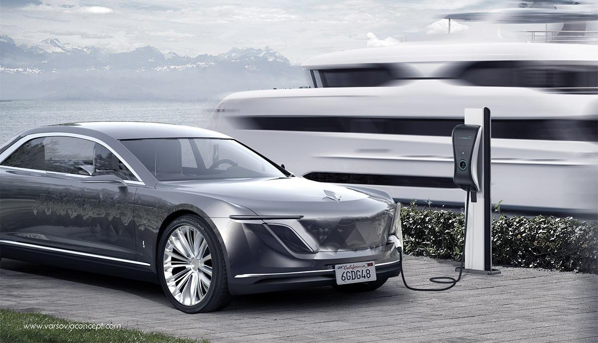 Varsovia Concept: Luxuriöses Elektroauto mit Range Extender ...