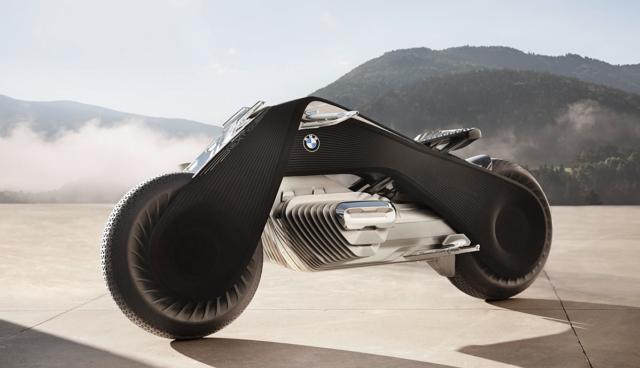 BMW stellt emissionsfreies Motorrad VISION NEXT 100 vor
