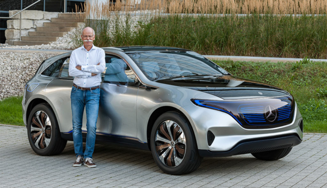 Wie Daimler-Chef Zetsche die Zukunft der Autobranche sieht