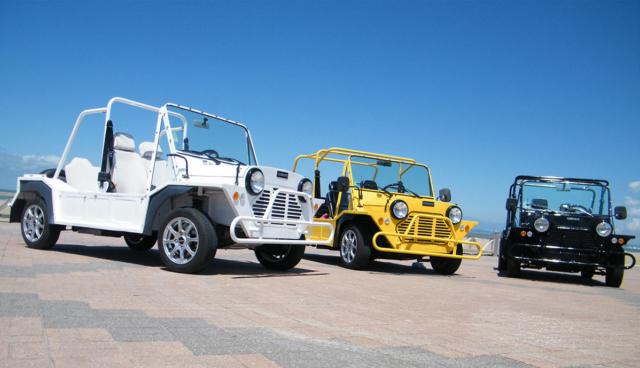 Strandbuggy Mini-Moke: Wiederauferstehung als Elektroauto
