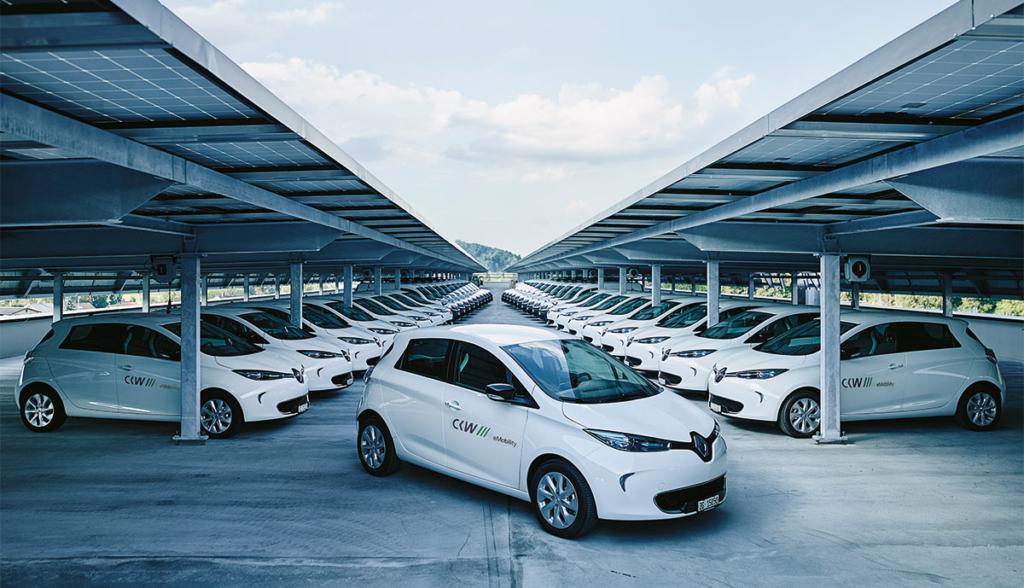 Energieversorger Fährt Größte Elektroauto Flotte Der Schweiz