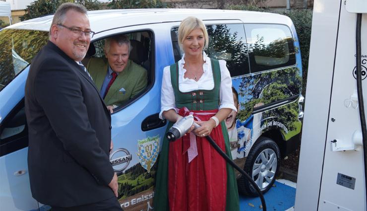 Bayerischer Jagdverband fährt Elektro-Transporter