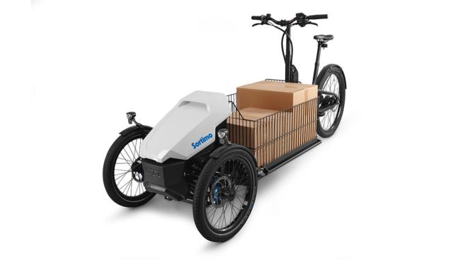 Dieses dreirädrige E-Bike ist ein wahrer Lastenesel